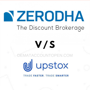 Zerodha vs Upstox -compare