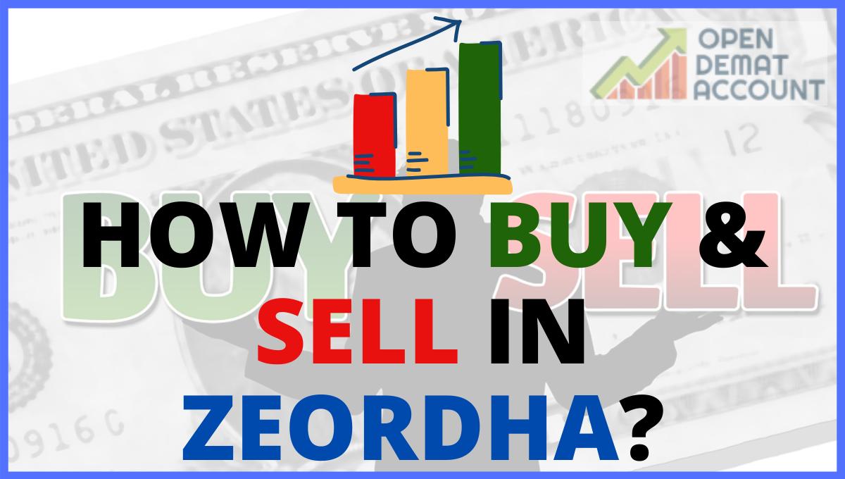 How to Buy & Sell In Zeordha