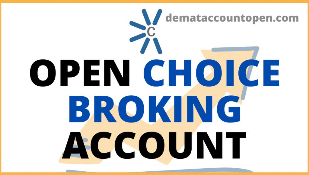 open choice broking demat