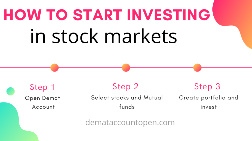 How to start investing in stock markets