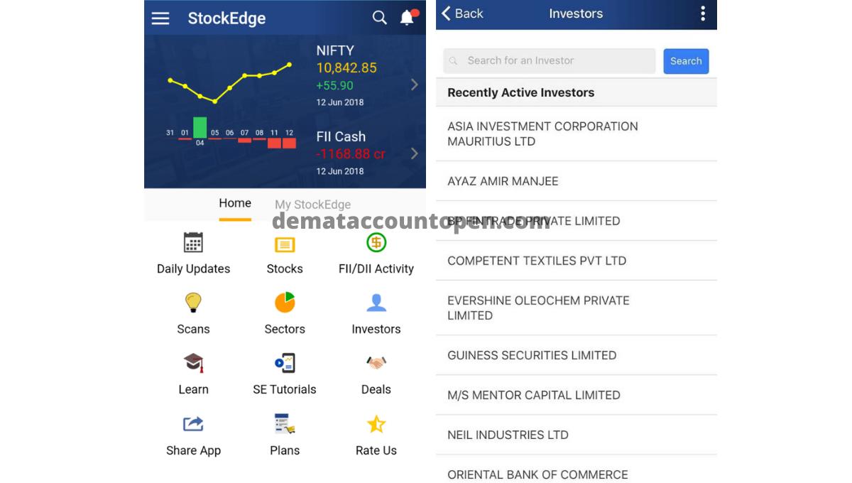 Stock Market App - StockEdge App