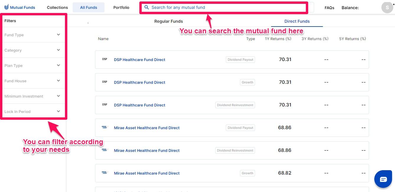 Upstox Mutual Fund