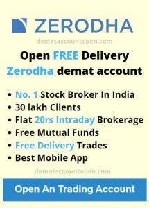 zerodha account offer